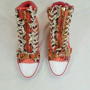 Rouge Women Sneakers Size 9